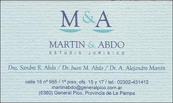Publicidad Estudio Martín & Abdo
